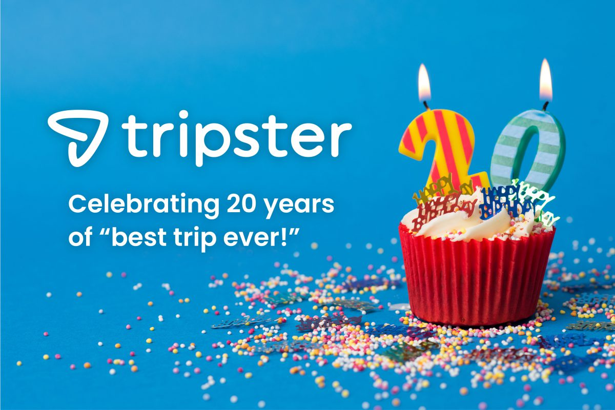 TRIPSTER CELEBRATES ITS 20TH ANNIVERSARY IN ONLINE TRAVEL