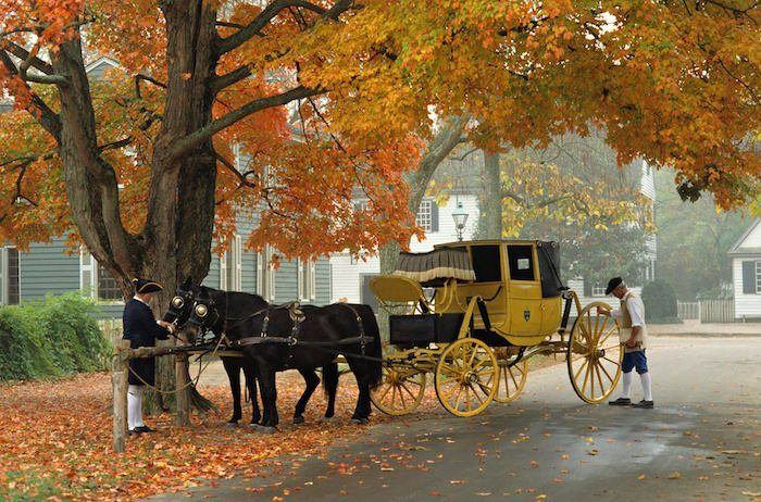 Autumn is the Perfect Time for a Williamsburg Vacation