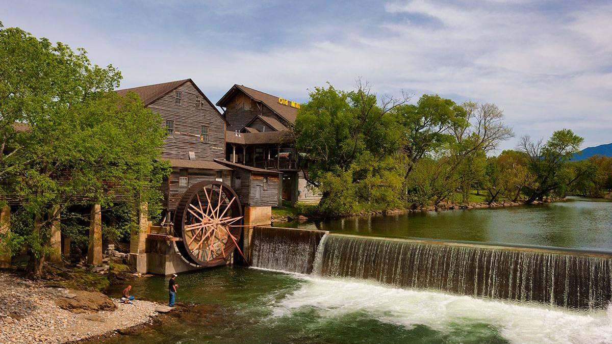 Old Mill in Pigeon Forge, Tennessee, USA