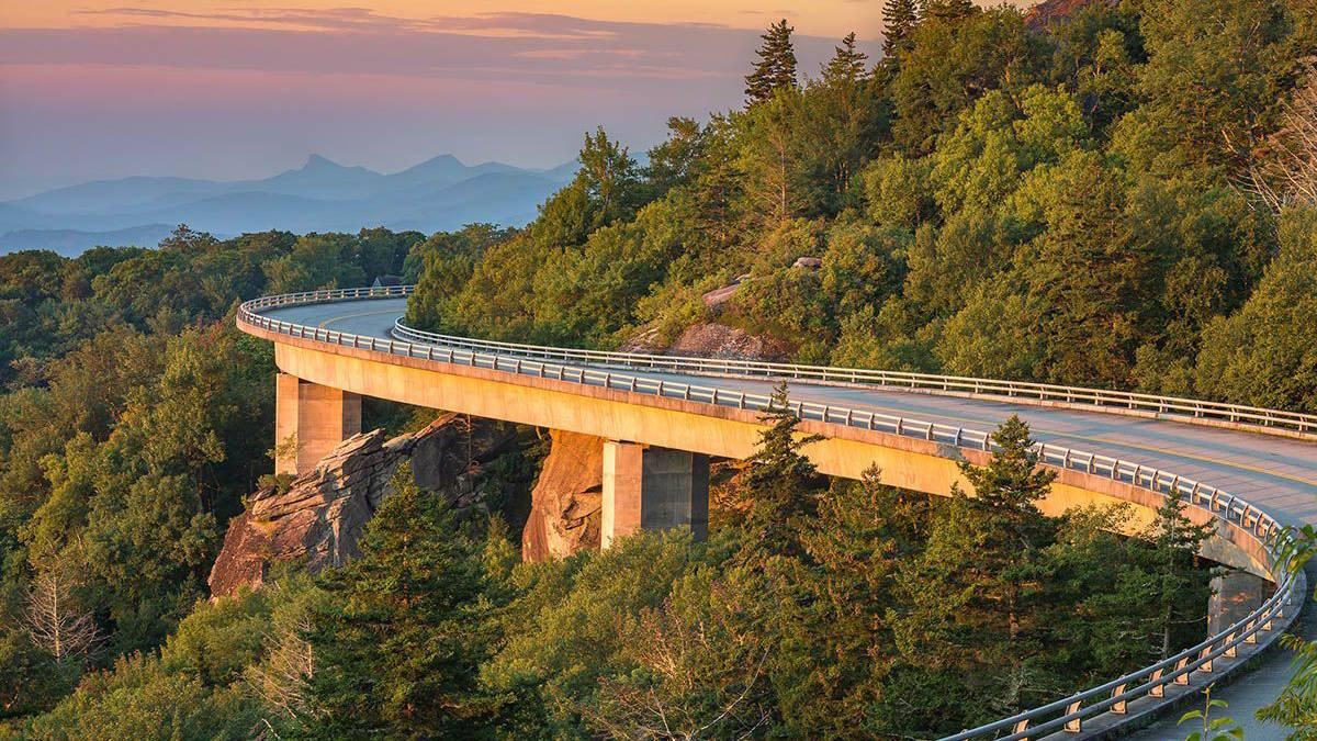 Blue Ridge Mountains Upstate North Carolina