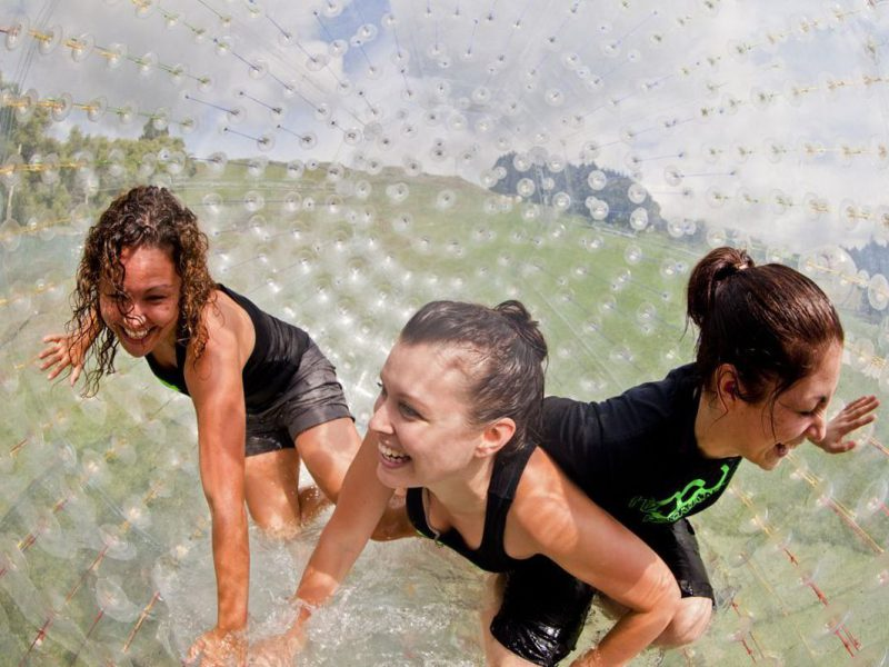 One-of-a-Kind Zorbing Promised at Outdoor Gravity Park