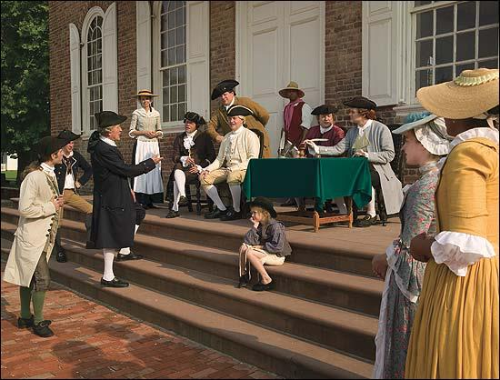 Unique Shows Tell the Stories of Colonial Williamsburg