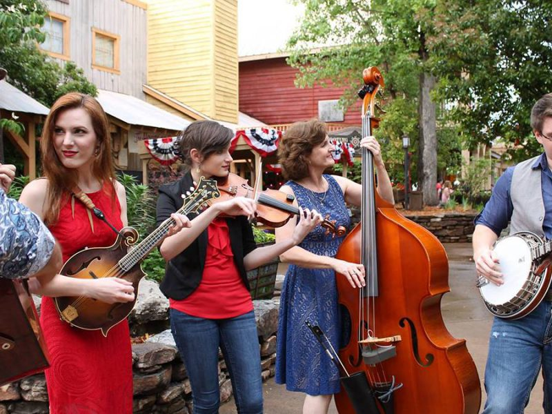 Old Fashioned Fun Served at Silver Dollar City Bluegrass and BBQ Festival