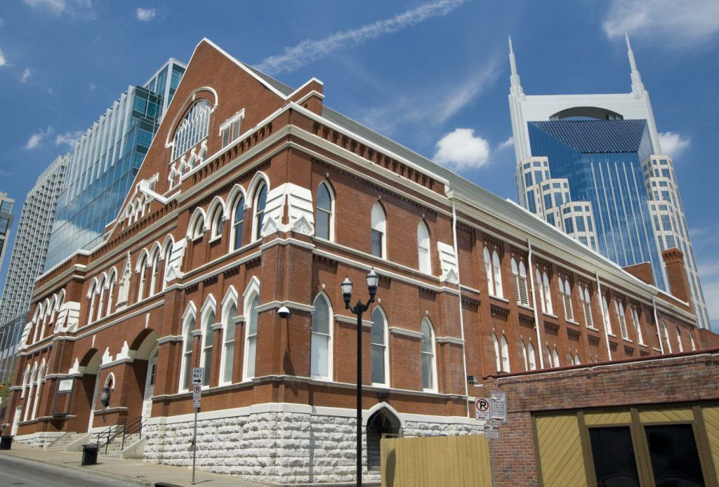 Among the most unique things to do in Nashville is a Ryman Auditorium tour