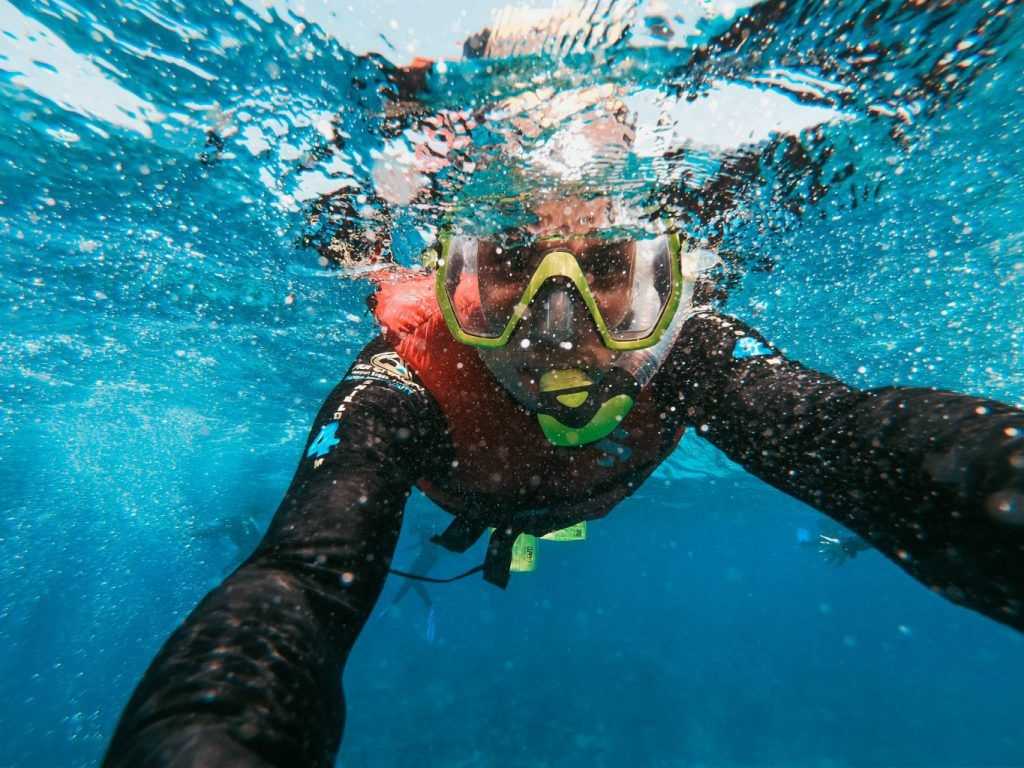 One of the best things to do in Maui is snorkeling